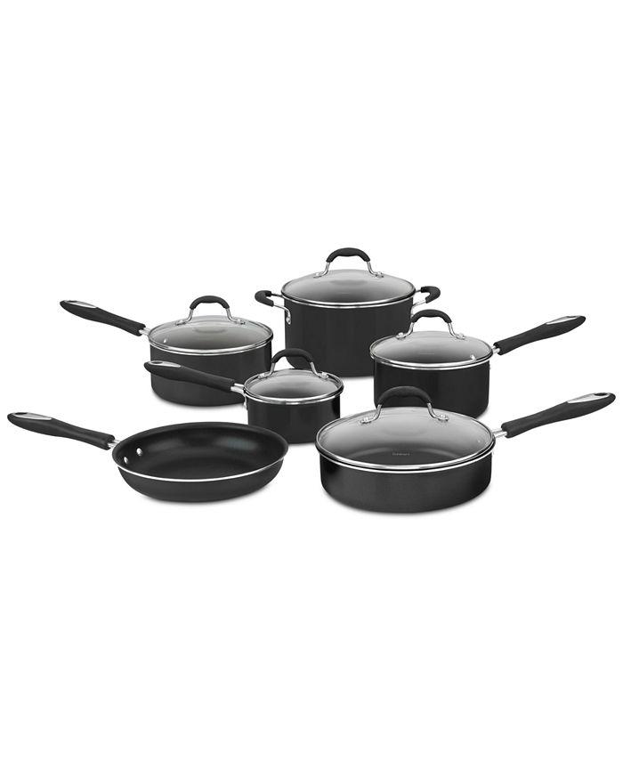 Cuisinart - Advantage 11-Pc. Non-Stick Cookware Set