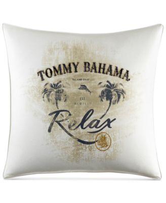 "Palms Away 20"" x 20"" Relax Decorative Pillow"