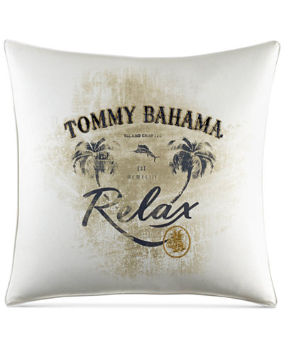 Tommy Bahama Home Palms Away 40 X 40 Relax Decorative Pillow Extraordinary Relax Decorative Pillow