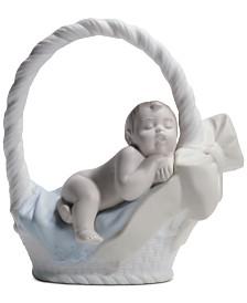 Lladró Newborn Boy Figurine
