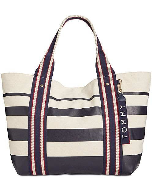 d2fd5e133e5 Tommy Hilfiger Classic Tommy Painted Stripe Tote & Reviews ...
