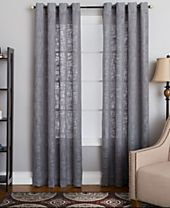 Miller Curtains Morris Textured Window Panels