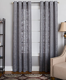 "Miller Curtains Morris 50"" x 84"" Textured Window Panel"