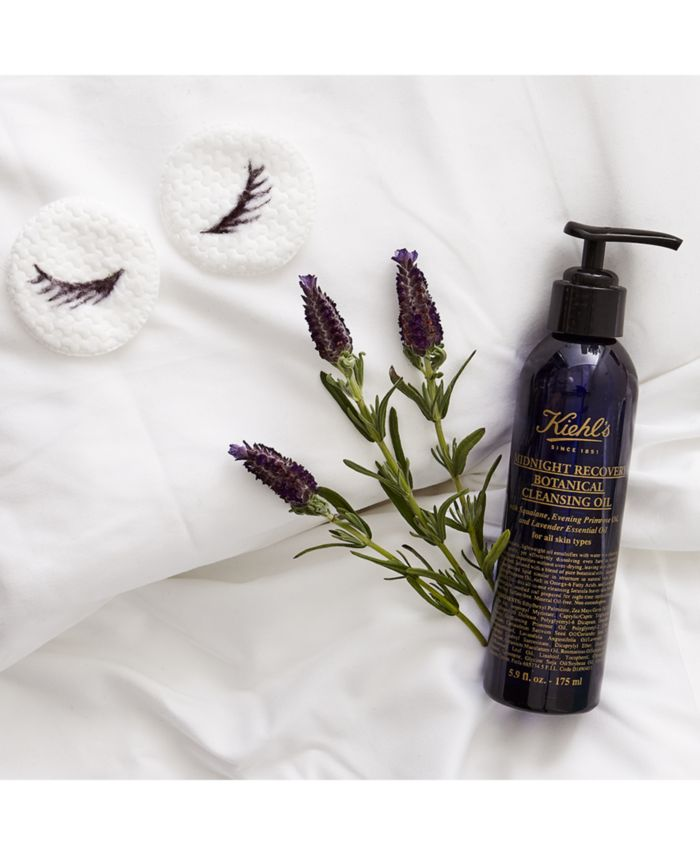 Kiehl's Since 1851 Midnight Recovery Botanical Cleansing Oil, 5.9-oz. & Reviews - Skin Care - Beauty - Macy's