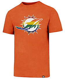 '47 Brand Men's Miami Dolphins Pride Club T-Shirt
