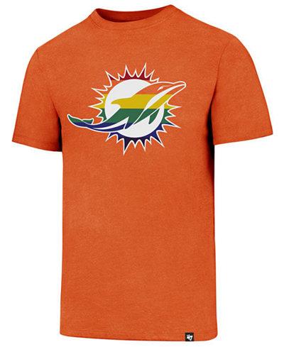 '47 Brand Men's Miami Dolphins Pride Club T-Shirt