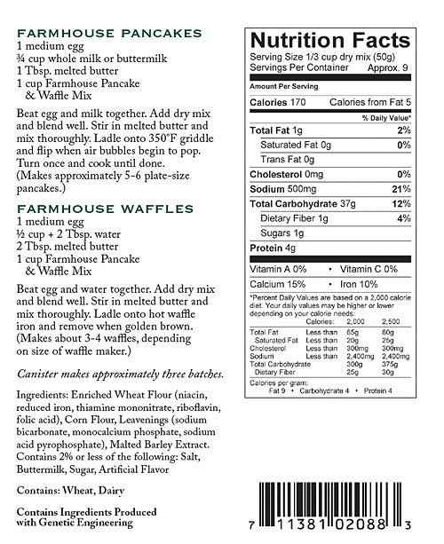 92d2f8f339d Stonewall Kitchen Original Pancake   Waffle Mix   Reviews - Gourmet ...