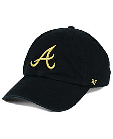 '47 Brand Atlanta Braves Metallic CLEAN UP Cap