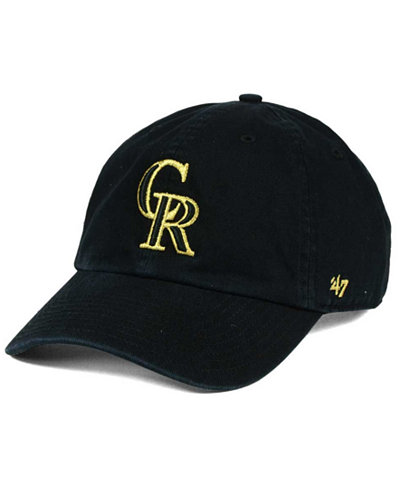 '47 Brand Colorado Rockies Metallic CLEAN UP Cap