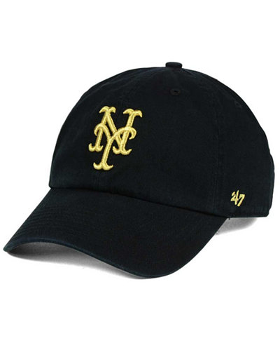 '47 Brand New York Mets Metallic CLEAN UP Cap