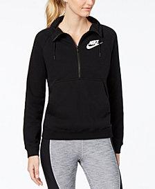 Nike Sportswear Rally Half-Zip Fleece Top