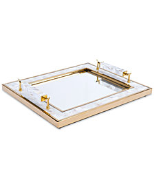Zuo Tray With Horn Handle