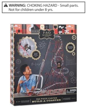 Fao Schwarz Kids Building Roller Coaster