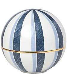 Lenox Luca Blue Azzurro Signature Covered Bowl