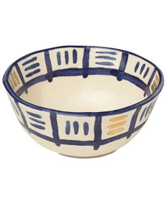 Lenox-Wainwright Pompeii Blu Sky Cereal Bowl, Created for Macy's