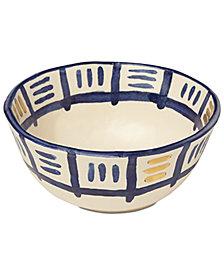 Lenox-Wainwright Pompeii Blu Sky Cereal Bowl, Created for Macy's