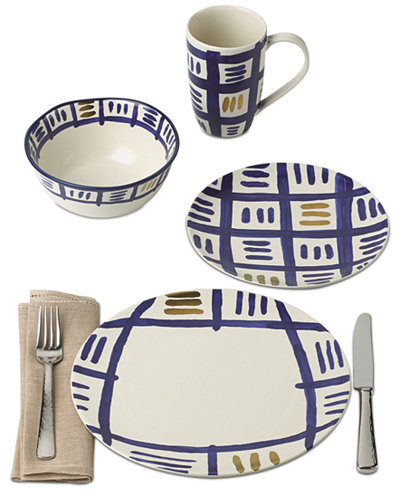 Crafted by Wainwright Pompeii Blu Sky Dinnerware Collection,Created for Macy's