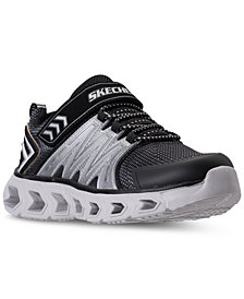 Skechers Little Boys' S Lights: Hypno-Flash 2.0 Light-Up Sneakers from Finish Line