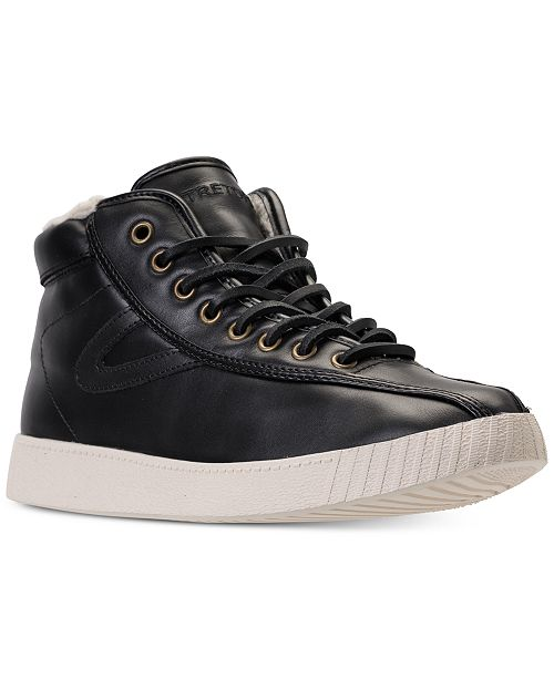 713951d01ada Tretorn Men s Nylite Hi 2 Casual Sneakers from Finish Line   Reviews ...