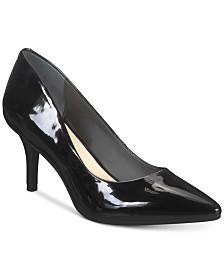 b4bd57302a6 Nina Coella d Orsay Peep-Toe Kitten-Heel Evening Sandals - Sandals ...