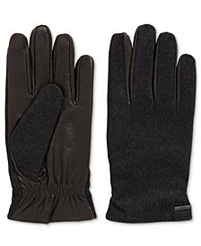 BOSS Men's Tech-Touch Knit Gloves