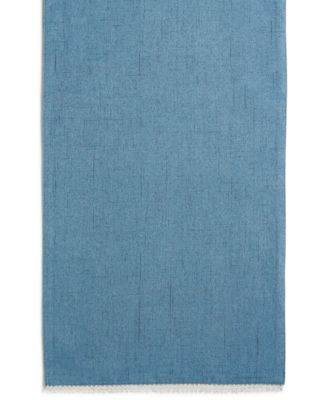 "French Perle Denim 70"" Table Runner"