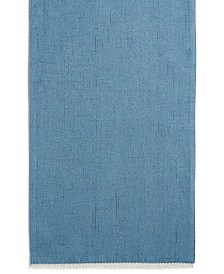 "Lenox French Perle Denim 70"" Table Runner"