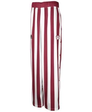 adidas Men's Indiana Hoosiers Candy Stripe Pants