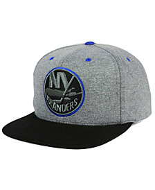 Mitchell & Ness New York Islanders Heather Snapback Cap
