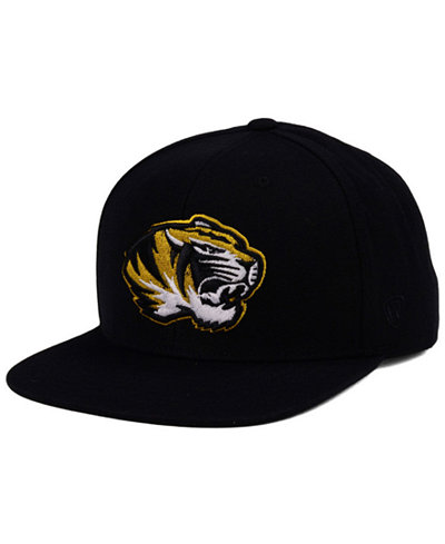 Top of the World Missouri Tigers Extra Logo Snapback Cap