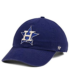 Houston Astros Timber Blue CLEAN UP Cap