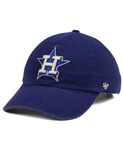 '47 Brand Houston Astros Timber Blue CLEAN UP Cap