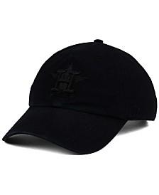 '47 Brand Houston Astros Black on Black CLEAN UP Cap