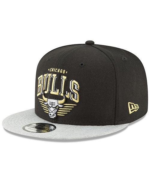 New Era Chicago Bulls Gold Mark 9FIFTY Snapback Cap - Sports Fan ... 38cf42914f85