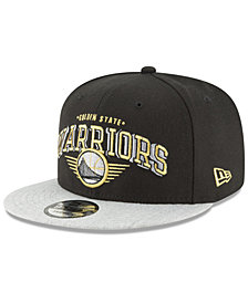 New Era Golden State Warriors Gold Mark 9FIFTY Snapback Cap