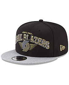 New Era Portland Trail Blazers Gold Mark 9FIFTY Snapback Cap