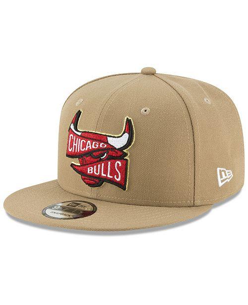 New Era Chicago Bulls Team Banner 9FIFTY Snapback Cap