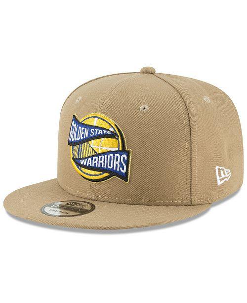 934bb5b8378316 New Era Golden State Warriors Team Banner 9FIFTY Snapback Cap ...
