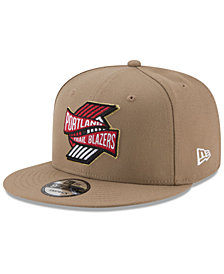 New Era Portland Trail Blazers Team Banner 9FIFTY Snapback Cap