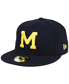 Michigan Wolverines Vault 59FIFTY Fitted Cap