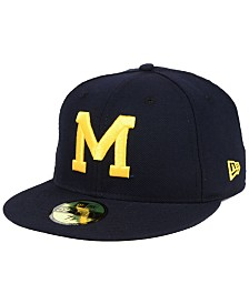 New Era Michigan Wolverines Vault 59FIFTY Fitted Cap