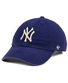 '47 Brand New York Yankees Timber Blue CLEAN UP Cap