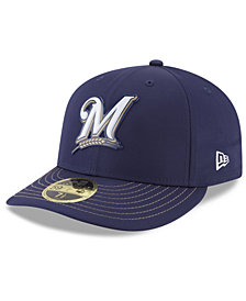 New Era Milwaukee Brewers Low Profile Batting Practice Pro Lite 59FIFTY Fitted Cap