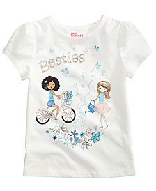 Epic Threads Besties T-Shirt, Little Girls, Created for Macy's