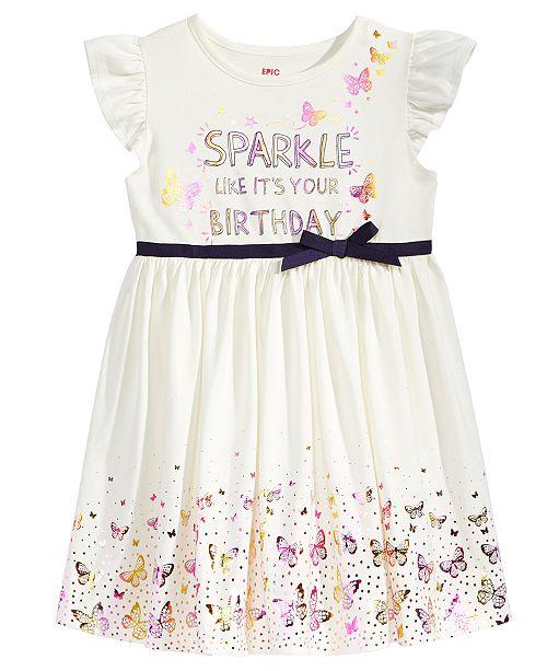 Birthday Dress Toddler Girls Created For Macys