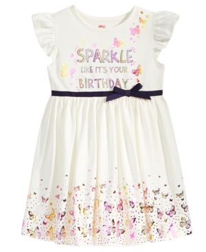 Epic Threads Birthday Dress Toddler Girls (2T5T) Created for Macys