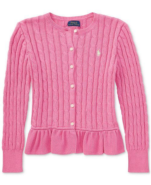 d3af76583 Polo Ralph Lauren Ralph Lauren Cable-Knit Cotton Cardigan