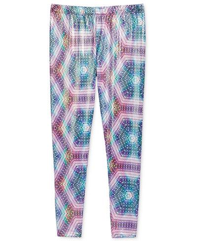 Epic Threads Kaleidoscope Printed Leggings, Big Girls, Created for Macy's