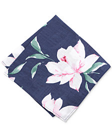 Bar III Men's Dylan Floral Pocket Square, Created for Macy's