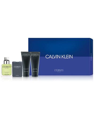 Calvin Klein Men's 4-Pc. Eternity For Men Gift Set